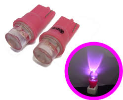 pink led sidelight bulbs lighting l spare part ford mk3