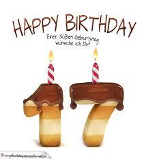 sprüche 17 geburtstag happy birthday in keksschrift zum 17 geburtstag