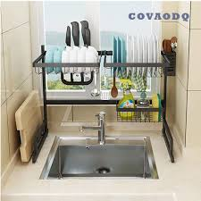 kitchen sink size for 24 inch cabinet dish drying rack sink drainer shelf for kitchen drying rack organizer supplies storage counter kitchen space saver utensils holder stainless