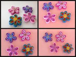 flores de foamy flores hechas con tiras de foamy o goma eva foam flowers