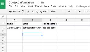 google sheets integration help u0026 support zapier
