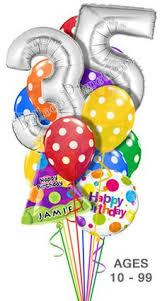 custom balloon bouquet delivery jumbo age balloon bouquet 12 balloons balloon bouquets