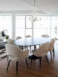 Contemporary Dining Room Furniture Modern Oval Dining Room Tables Best Gallery Of Tables Furniture