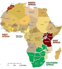 map with names of countries in africa map showing countries in africa africa map