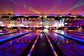 black light bowling near me bowling rock it lanes