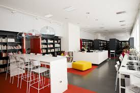 Beautiful Modern Home Library Interior Design Ideas House Design - Library interior design ideas