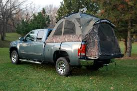 Chevy Silverado Truck Tents - sports camouflage 57 series above ground camping truck tent