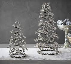 faceted mirror spiral tree pottery barn