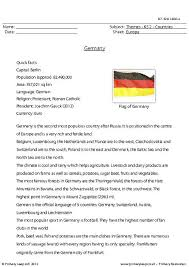 primaryleap co uk countries germany worksheet