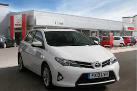 used toyota auris icon 2013 cars for sale motors co uk