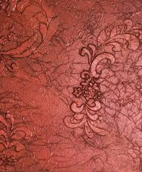 Bedroom Wall Textures Ideas U0026 Inspiration Charming Red Floral Pattern Textured Wall Finished As Inspiring