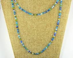 long bead chain necklace images Long beaded necklace etsy jpg