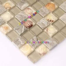 aliexpress com buy mosaic tiles brown marble fireplace wall