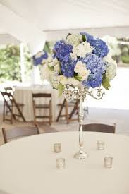 blue and white wedding centerpieces 9403