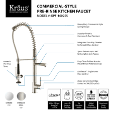 kitchen sensational pre rinse faucet for modern kitchen ideas