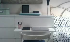ikea shelf with lip malm chest gets a pull out laptop table ikea hackers