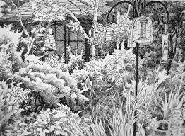 garden sketch 3 by lhox on deviantart