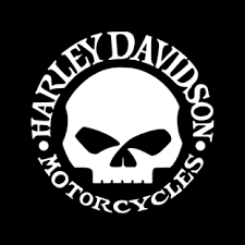 harley davidson willie skull vinyl decal superior quality and