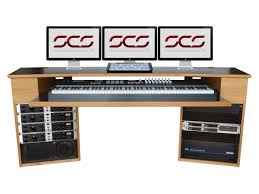 Recording Studio Workstation Desk by Studio Desks