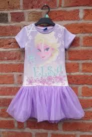 kids clothes week elsa t shirt dress little black duck