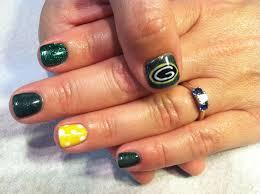 34 best nfl nail art images on pinterest football nails sport