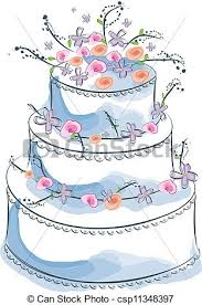 wedding cake drawing wedding cake eps vectors search clip illustration drawings