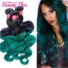 raw hair coloring tips beauty plus 8a green hair extension 1 pc raw indian virgin hair