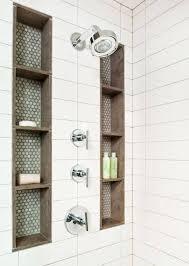 Bathroom Shower Storage 25 Best Built In Bathroom Shelf And Storage Ideas For 2018