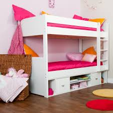 Full Size Loft Beds For Girls by White Wood Full Size Loft Bed Style U2013 Home Improvement 2017