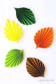 DIY paper leaf Bello a los ojos Pinterest