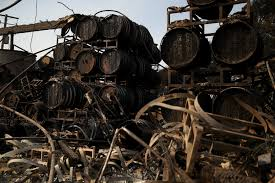 Wildfire Social Media App by Northern California Wineries Remain Imperiled As Wildfires Rage On