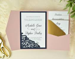 wedding invitations ideas diy cards pockets design idea diy wedding invitation ideas