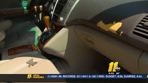 lexus recall on dashboards cracked dashboard causes frustrations for lexus owner abc11 com