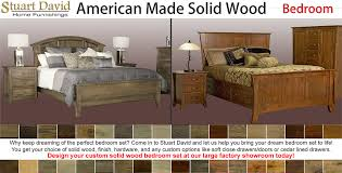 Mission Bedroom Furniture Rochester Ny by Solid Wood American Made Furniture California Furniture