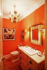 decorating ideas for bathrooms colors 31 cool orange bathroom design ideas digsdigs