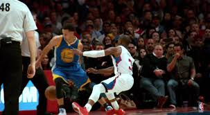 Hit The Floor Killer Crossover - stephen curry drops chris paul with behind the back crossover video