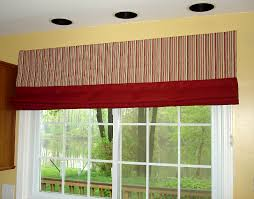 Red Roman Shades Curtains And Blinds In Same Room Decorate The House With