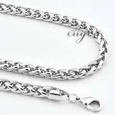 white gold men necklace images Mens white gold necklace white house designs jpg