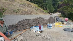 cinder block retaining wall construction san francisco bay area