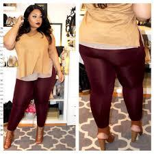 Tek Gear Plus Size Clothing Fleece Leggings Plussizebeauty Curvaceous Women Pinterest