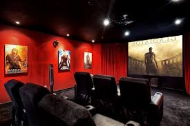 wonderful red recliners amazing ideas with media room theater seating