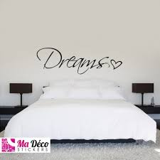 stickers chambre sticker dreams pas cher accueil discount stickers muraux