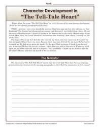 tell tale heart lesson plans u0026 worksheets reviewed by teachers