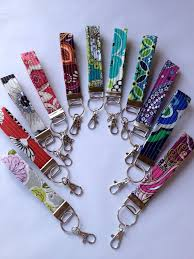fabric key fob 487 best key fobs chains zipper pulls lanyards images on