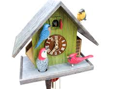 How To Wind A Cuckoo Clock The Limited Edition Hand Carved Backyard Birds Cuckoo Clock