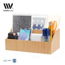 Desk Top Organizer by Bamboo All In One Desktop Organizer Cubicle Decor Zone