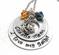 Items Similar To Love Anchors - hand st for wife mom aunt or sister i love my sailor