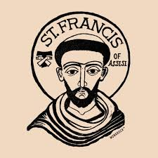 4731 best graphic design images st francis of assisi tertiary sticker monkrock