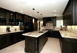 black and kitchen ideas brown cabinets with white countertops sowingwellness co
