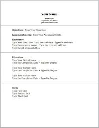 resume objective exles first time jobs first time resume exles exles of resumes